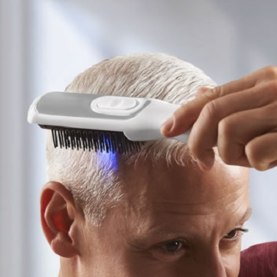 Dandruff Reducing Infrared Hair Brush