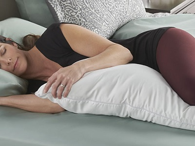 Cooling Memory Foam Body Pillow 1