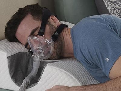 Sleep Improving Cooling CPAP Wedge 1