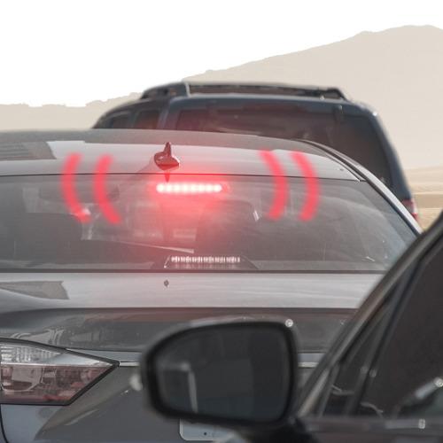 Crash Reducing Brake Light