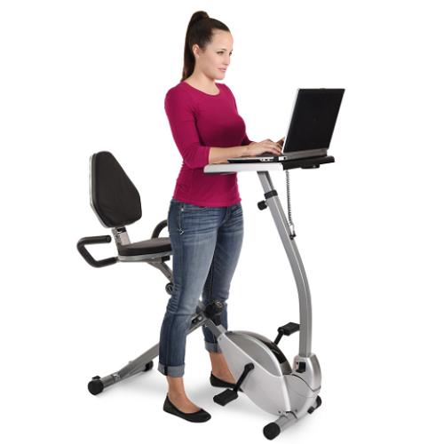 Home-Exercise-Bike-Workstation