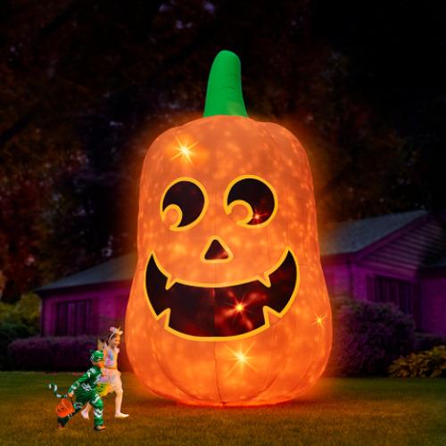 Inflatable Jack O' Lantern