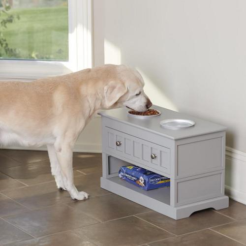 Height Adjustable Pet Feeder