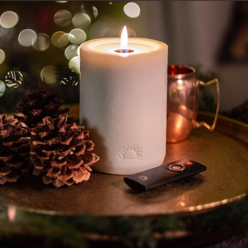 Remote-Control-Real-Flame-Candle
